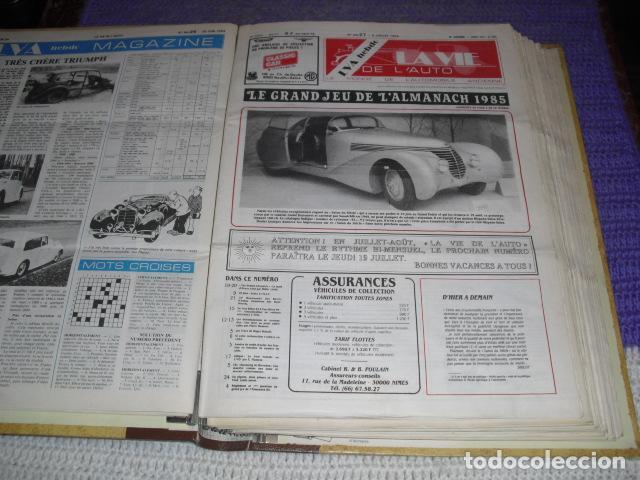 LA VIE DE L'AUTO - 23 EJEMPLARES - AÑO 1984 (Coches y Motocicletas Antiguas y Clásicas - Revistas de Coches)
