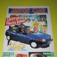 Coches: MOTOR CLUB FORD - NÚM. 12 - MAYO 1991 - 66 PÁG.. Lote 165175198