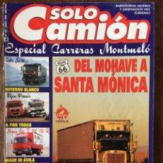 Coches: REVISTA SOLO CAMION NÚMERO 101 DE 1998 CAMION NISSAN IVECO. Lote 165607978
