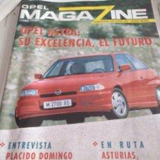 Coches: OPEL MAGAZINE. OTOÑO 1991. LA REVISTA DE LOS CLIENTES OPEL. GENERAL MOTORS.. Lote 165769694