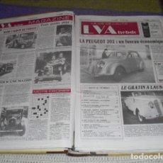 Coches: LA VIE DE L'AUTO - 23 EJEMPLARES - AÑO 1988 -. Lote 165873662