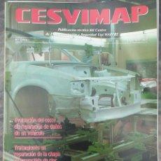 Coches: REVISTA CESVIMAP CARROCERIA DEL AUTOMOVIL Nº 2 AÑO I DICIEMBRE 1992 OPEL ASTRA. Lote 166054370
