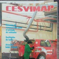 Coches: REVISTA CESVIMAP CARROCERIA DEL AUTOMOVIL AÑO I Nº 3 MARZO 1993 PEUGEOT 106. Lote 166054854