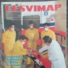 Coches: REVISTA CESVIMAP CARROCERIA DEL AUTOMOVIL AÑO I Nº 4 JUNIO 1993 VOLKSWAGEN VENTO. Lote 166055170