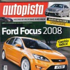 Coches: REVISTA AUTOPISTA Nº 2522 AÑO 2007. PRUEBA: OPEL CORSA 1.3 CDTI SPORT EASY. COMP: VW GOLF 2.0 TDI Y . Lote 166575246
