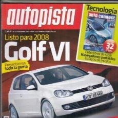 Coches - REVISTA AUTOPISTA Nº 2525 AÑO 2007. PRUEBA: OPEL MERIVA 1.7 CDTI. COMP: FORD MONDEO 2.0 TDCI, - 166575550