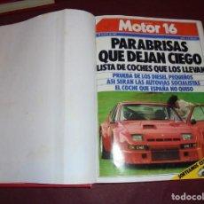 Coches: MAGNIFICOS 29 NUMEROS DE LA REVISTA MOTOR 16. Lote 166732322