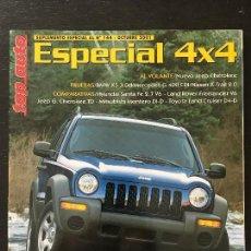 Coches: TOP AUTO SUPLEMENTO ESPECIAL 4X4 BMW X5 MERCEDES G 400 CDI NISSAN X TRAIL LAND ROVER FREELANDER V6. Lote 166946840