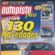 Voitures: REVISTA AUTOPISTA Nº 2110 AÑO 1999. PRUEBA: MERCEDES E 320 CDI. COMP: VW GOLF V6 4 MOTION Y AUDI S3.. Lote 166996136