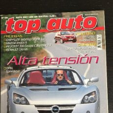 Coches: TOP AUTO Nº 139 - CHRYSLER SEBRING CABRIO MAZA XEDOS 9 PEUGEOT 206 COUPE RENAULT CLIO V6. Lote 167090604