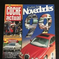 Coches: COCHE ACTUAL Nº 560 - RENAULT CLIO RT SSANG YONG MUSSO TDI CHRYSLER STRATUS V6 VOLVO S80 T6. Lote 167896064