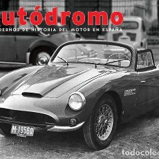 Coches: AUTODROMO 4 - LILI ALVAREZ PRIMER SEAT CARRERAS FORD CADIZ CISITALIA AUTARQUIA. Lote 222859441