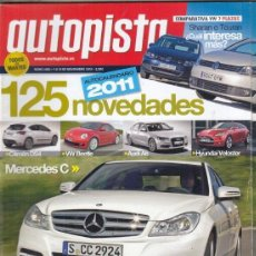 Coches: REVISTA AUTOPISTA Nº 2682 AÑO 2010. COMPARATIVA: VW TOURAN 1.6 TDI Y VW SHARAN 2.0 TDI DSG. . Lote 167911208