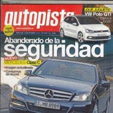 Coches - REVISTA AUTOPISTA Nº 2685 AÑO 2010. PRUEBA: VW POLO GTI. COMP: PORSCHE 911 TURBO CABRIO PDK Y - 167912420
