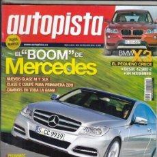Coches: REVISTA AUTOPISTA Nº 2662 AÑO 2010. COMP: VW GOLF 2.0 TDI GTD, SEAT LEON 2.0 TDI FR, FOCUS 2.0 TDCI,. Lote 167994620