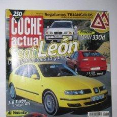 Coches: REVISTA COCHE ACTUAL Nº603 NOVIEMBRE 1999 SEAT LEON HYUNDAI ACCENT JEPP GRAND CHEROKEE. Lote 168191456