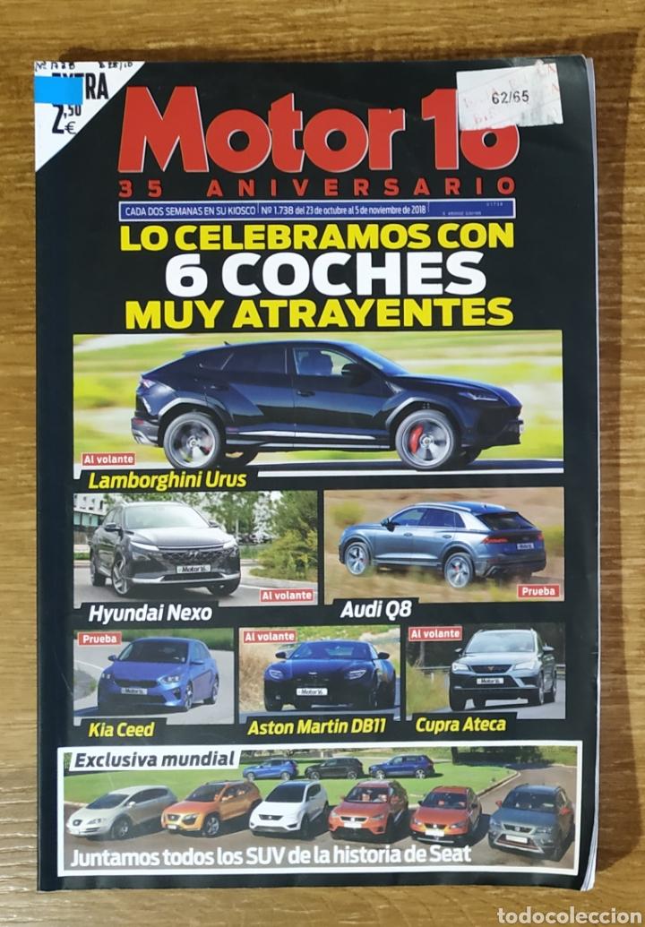 REVISTA MOTOR 16 N°1738 ESPECIAL 35 ANIVERSARIO (Coches y Motocicletas Antiguas y Clásicas - Revistas de Coches)