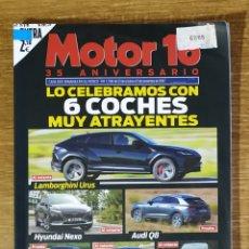 Coches: REVISTA MOTOR 16 N°1738 ESPECIAL 35 ANIVERSARIO. Lote 168297438