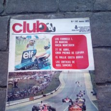 Coches: REVISTA CLUB REAL AUTOMÓVIL N°142 MARZO 1975. Lote 168545265