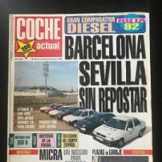 Coches: COCHE ACTUAL Nº 205 - CITROEN ZX AVANTAGE D FIAT TIPO DS FORD ESCORT CLX OPEL ASTRA GL RENAULT 19 TD. Lote 246075690