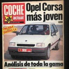 Auto: COCHE ACTUAL Nº 131 - OPEL CORSA 1.4 AUDI 90 SPORT E SUZUKI VITARA PROTO QLX RENAULT CLIO 1.4 RT. Lote 168599036