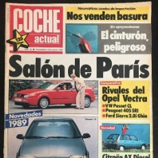 Coches: COCHE ACTUAL Nº 35 - FIAT UNO 45 S FIRE OPEL VECTRA GL FORD SIERRA GHIA PEUGEOT 405 SRI VW PASSAT CL. Lote 168666820