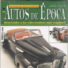 Coches: MODELOS EXCLUSIVOS DE AUTOS DE EPOCA. FASCICULO Nº 1. Lote 169657156