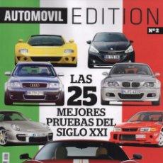Coches: AUTOMOVIL EDITION N. 2 - LAS 25 MEJORES PRUEBAS DEL SIGLO XXI (NUEVA). Lote 170159289