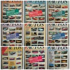 Coches: GRAN LOTE 17 REVISTAS AUTOS INTERNATIONAL AÑOS 90/91. Lote 171166878