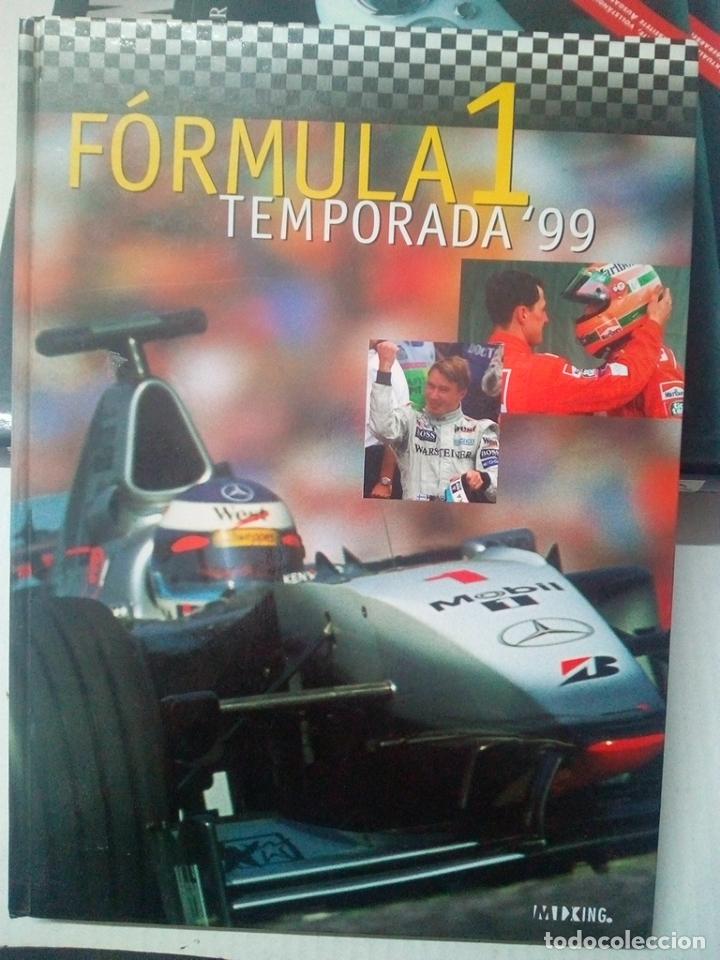 -FORMULA 1 -TEMPORADA 99-220 PAG (Coches y Motocicletas Antiguas y Clásicas - Revistas de Coches)