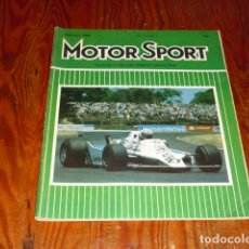 Coches: MOTOR SPORT - 1980 -. Lote 172368725