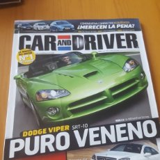Coches: CAR AND DRIVER N° 153 JUNIO 2008. Lote 189628143