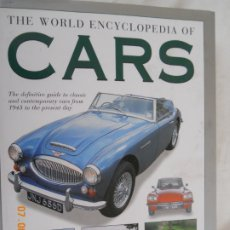 Coches: THE WORLD ENCYCLOPEDIA OF CARS - MARTIN BUCKLEY AND CHRIS REES - HERMES HOUSE 1998 - INGLÉS. . Lote 173941358