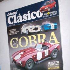 Coches: REVISTA MOTOR CLASICO Nº292 MAYO 2012 COBRA SHELBY,AMILCAR,PEUGEOT 205 GTI,SEAT 1400C,TECHNO ESSEN. Lote 174154199
