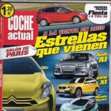 Coches: REVISTA COCHE ACTUAL Nº 1069 AÑO 2008. PRUEBA: FORD FIESTA 1.6 TDCI. . Lote 174639977