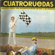 Coches: CUATRORUEDAS Nº 9 SEPTIEMBRE 1964. Lote 174980308