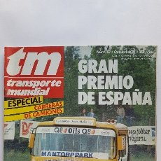 Coches: REVISTA TM - Nº 52 -TRANSPORTE MUNDIAL - CAMIÓN -OCTUBRE 1991- ESPECIAL CARRERAS DE CAMIONES. Lote 175287228