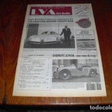 Coches: LA VIE DE L'AUTO Nº 547 -1992. Lote 175292602