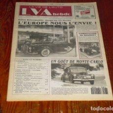 Coches: LA VIE DE L'AUTO -548 - . Lote 175328655