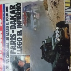 Coches: REVISTA MOTOR16 AÑOS 1985.. Lote 175672343