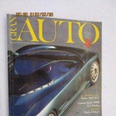 Coches: GRAN AUTO , REVISTA Nº 24 FEBRERO 1991 VOLVO 960 - 24V , SAAB 9000, BERTONE EMOTION. Lote 175819463