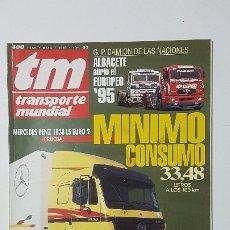 Coches: REVISTA TM - Nº 95 -TRANSPORTE MUNDIAL - CAMIÓN - MAYO 1995 -. Lote 175876319