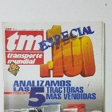 Coches: REVISTA TM - Nº 100 -TRANSPORTE MUNDIAL - CAMIÓN - OCTUBRE 1995 - ESPECIAL Nº 100. Lote 175876407