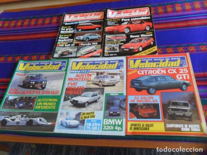 REVISTA GRÁFICA DEL MOTOR VELOCIDAD NºS 1168 1179 1198 1221 1225. 1984. 150 PTS. (Coches y Motocicletas Antiguas y Clásicas - Revistas de Coches)