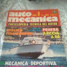 Coches: REVISTA AUTOMECANICA NUM. 61 1974. Lote 175991103