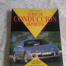 Coches: CURSO DE CONDUCCIÓN DEPORTIVA. GUIDO MARCHINI. (PARA COCHES). Lote 176072755