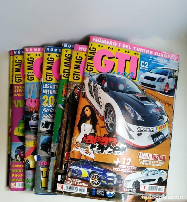 LOTE 7 REVISTAS GTI MAG (Coches y Motocicletas Antiguas y Clásicas - Revistas de Coches)