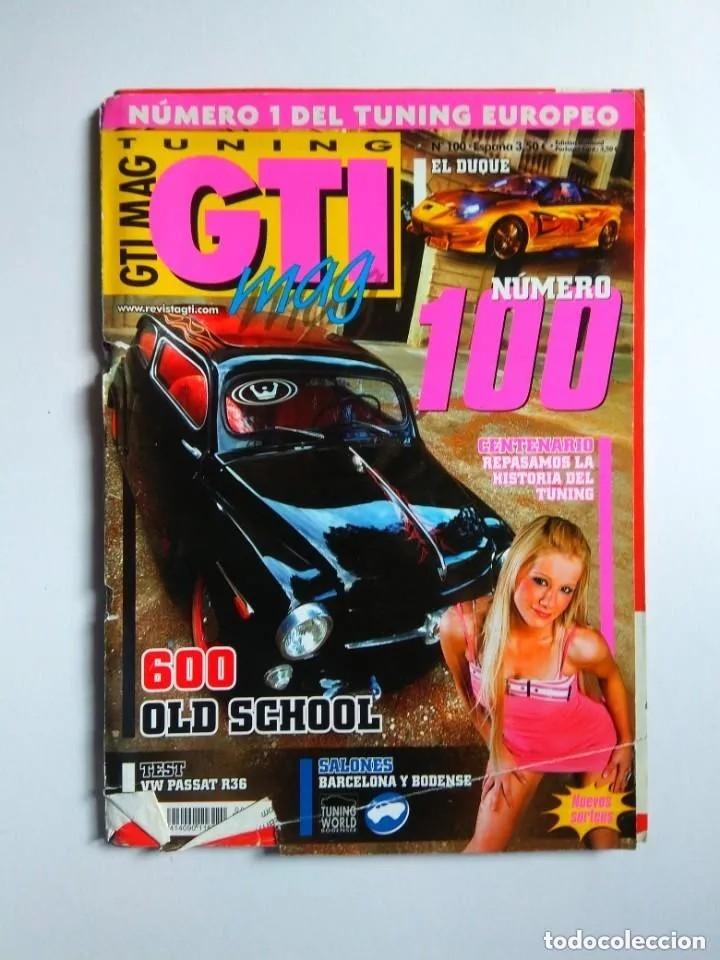 Coches: LOTE 7 REVISTAS GTI MAG - Foto 3 - 176217062