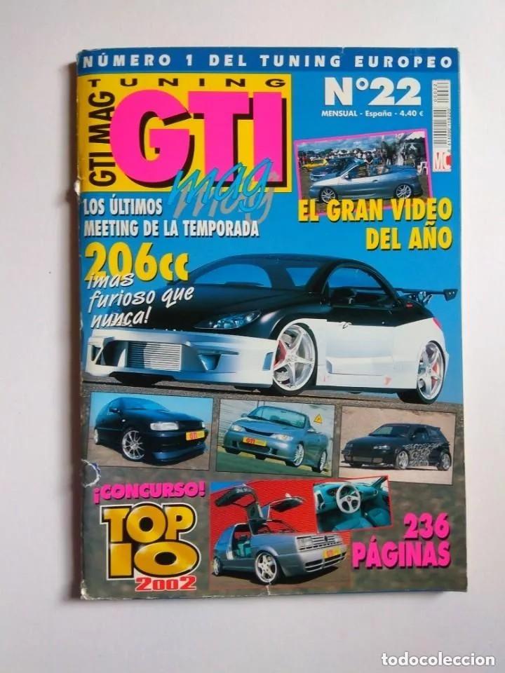 Coches: LOTE 7 REVISTAS GTI MAG - Foto 5 - 176217062