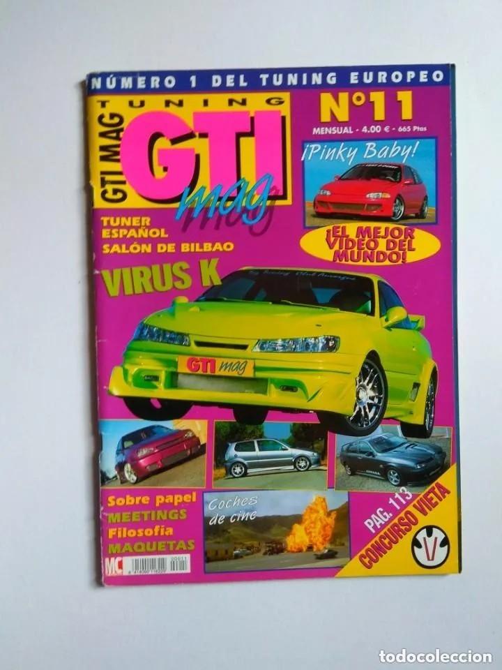Coches: LOTE 7 REVISTAS GTI MAG - Foto 6 - 176217062